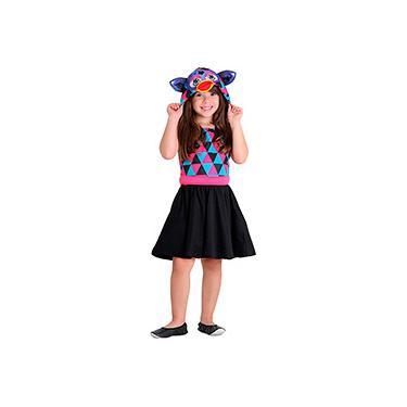 Imagem de Fantasia Infantil Furby Estampado - Sulamericana