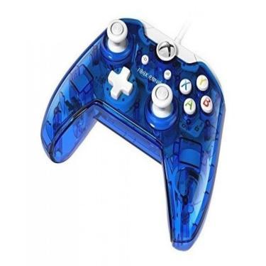 Controle Xbox / One / S / Joystick Pc Com Cabo - Azul