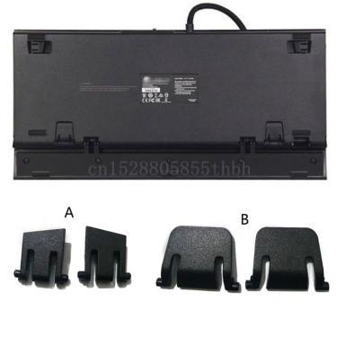 Suporte de teclado perna suporte plástico para corsair k65 k70 k63 k95 k70 lux rgb teclado mecânico