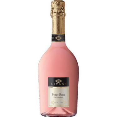 Espumante Rivani Extra Dry Pinot Rose 750Ml