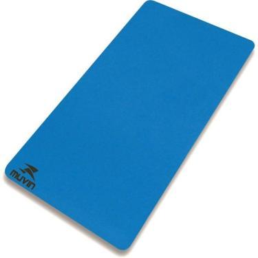 aa67b1b47 Colchonete Yoga Pilates Eva - 100x50x1 Cm - Azul - 1 cm