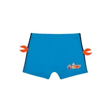 Shorts Praia Azul Turquesa (06-12M) Tip Top