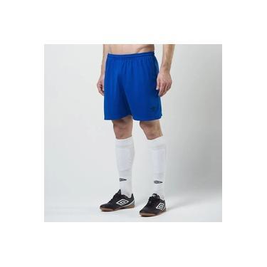 Calção Futebol Umbro Twr Striker Azul Masculino