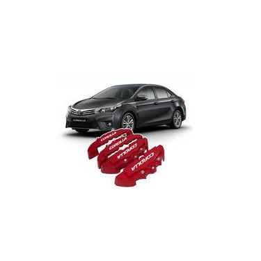 Capa De Pinça De Freio - Tuning Kit 4 Pcs Toyota Corolla 2016