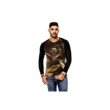 Camiseta Raglan League Of Legends Renekton Carniceiro Das Areias Rework Manga Longa