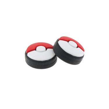 Joystick Analógico De Silicone Rocker Cap Cover Para Nintendo Switch Pokeball Plus