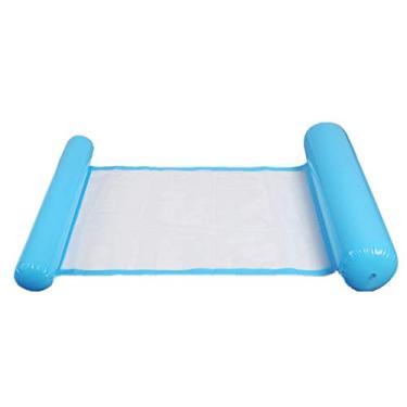 Andoer Cadeira de piscina Cadeira de piscina espreguiçadeira inflável preguiçosa