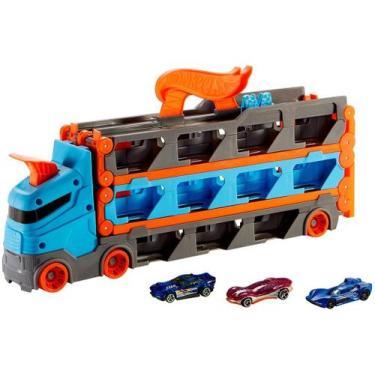 Imagem de Caminhão De Brinquedo Hot Wheels City Guincho - Pista De Corridas Roda