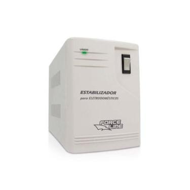 Estabilizador de energia para eletrodoméstico bivolt 1000VA Force Line