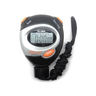 Cronômetro Digital Profissional Vollo Vl-1809 Com Alarme