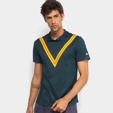 Camiseta Polo Nike NY RF Masculina - Masculino 1439d4f53f539