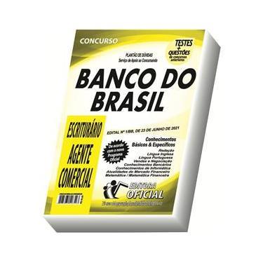 Imagem de Apostila Bb Banco Do Brasil Escriturário - Agente Comercial
