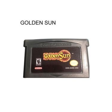 Versão EUA Golden Sun Perdeu A Idade Do Cartucho De Cartão De Jogo Para Game Boy Advance