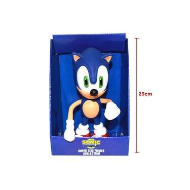 Boneco Sonic World Size Figure Collection Nintendo