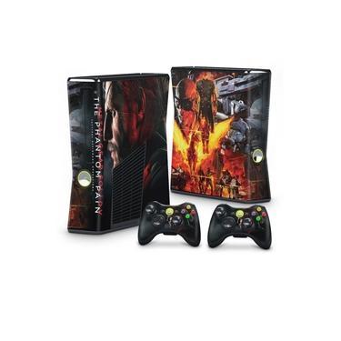 Skin Adesivo para Xbox 360 Slim - Metal Gear Solid 5: The Phantom Pain