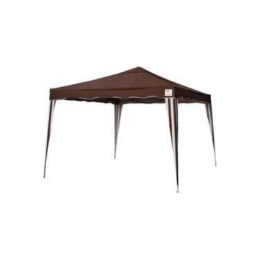 Tenda Gazebo 3X3 Flex 3313 Marrom Bel Fix