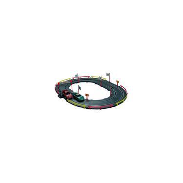 Imagem de Pista Elétrica Tipo Autorama 2 Carros Circuito Oval Inmetro