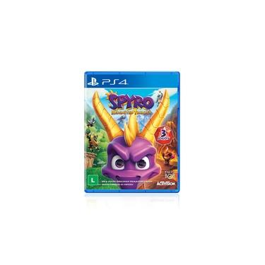 Jogo Game Spyro Reignited Trilogy - PS4