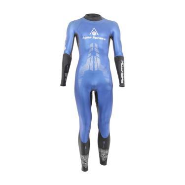 Roupa de Borracha Triathlon Masculina Phantom 2016 Aqua Sphere - Azul/Preto - S