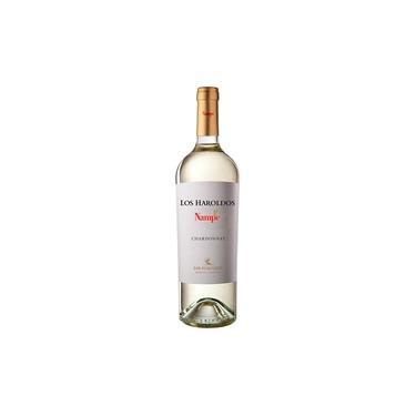 Vinho Argentino Los Haroldos Nampe Chardonnay Branco