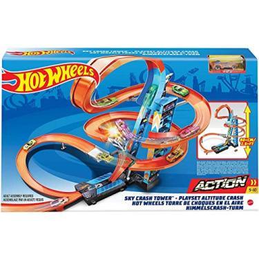 Imagem de Pista Hot Wheels Torre de Colisão Aérea - Mattel
