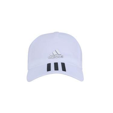 Boné Aba Curva adidas C40 6P 3S Climalite - Strapback - Adulto - BRANCO  adidas 45f9a8cb09