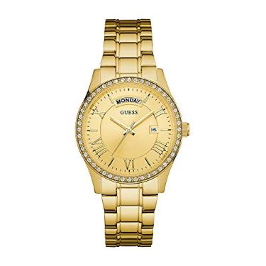 a269de9356e Relógio Guess Feminino Calendário Dourado 92597LPGDDA1