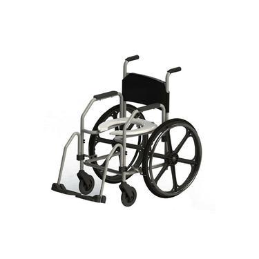Imagem de Cadeira De Banho Higiênica RG Roda Grande Jaguaribe Cap. 100 Kgs