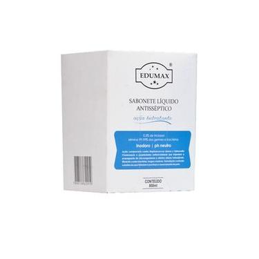 Sabonete Líquido Bactericida Antisseptico 800ml Refil P/ Saboneteira - Edumax