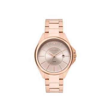 952eb56a3e6 Relógio Technos Rosé Feminino Elegance Dress