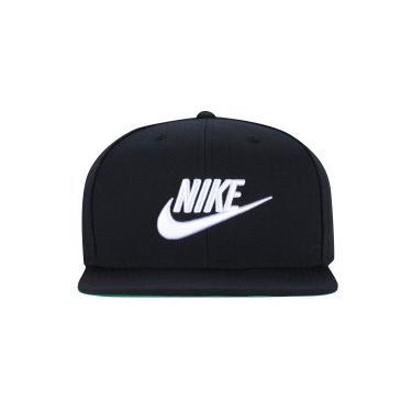Boné Aba Reta Nike Sportswear Futura Pro - Snapback - Adulto - PRETO BRANCO  Nike 2567d30c159