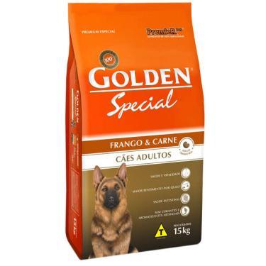 Ração Seca PremieR Pet Golden Special Cães Adultos Frango e Carne - 15 Kg