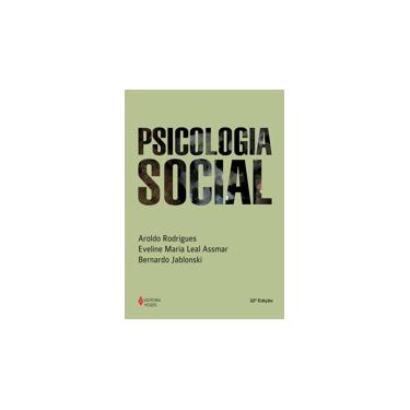 Psicologia Social - Rodrigues, Aroldo - 9788532605559