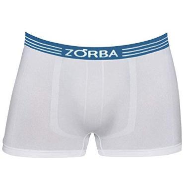 Cueca Zorba Boxer Extreme Microfibra 832 G Branco