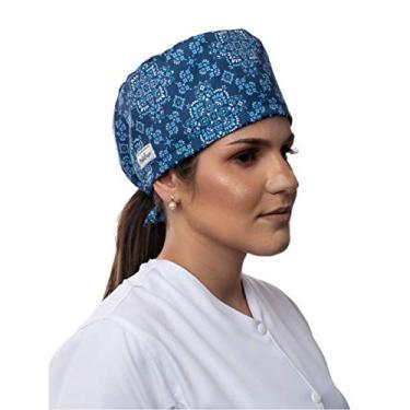 Gorro Cirúrgico Bandana Azul