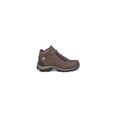 Imagem de Bota Coturno Masculino D Couro West Boots Premium Cor Marrom - dev