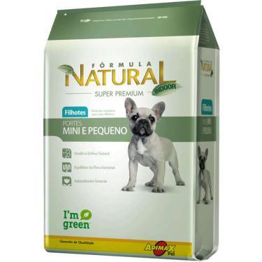 Ração Fórmula Natural Super Premium para Cães Filhotes Raças Minis e Pequenas - 7 Kg