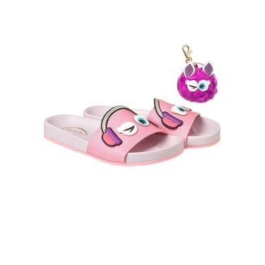 Chinelo Slide Infantil Pampili Must Dot's