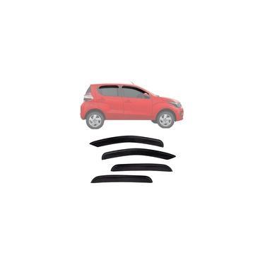 Calha de Chuva Esportiva Fiat Mobi 2016 17 18 Fumê