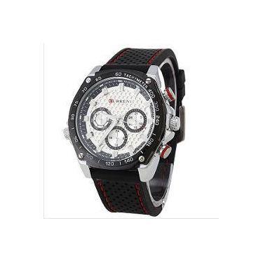 08cb30f37ea Relógio de Pulso Masculino Curren Shoptime