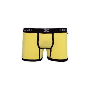 Cueca Boxer Glam Dio Collection Amarelo