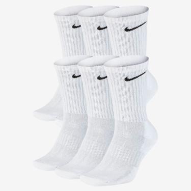 Meia Nike Everyday Cushioned (6 Pares)