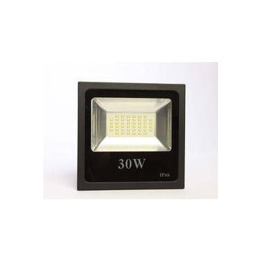 Refletor Led 30W Smd Holofote Ledgold IP66 Branco Frio