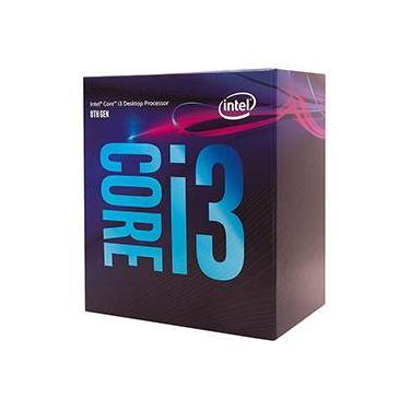 Processador Intel 8100 Core i3 (1151) 3.60 Ghz Box - Bx80684i38100 - 8ª Ger