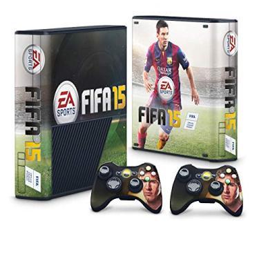 Skin Adesivo para Xbox 360 Super Slim - Fifa 15