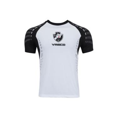 Camiseta do Vasco da Gama Orion - Masculina - BRANCO PRETO Braziline 7384b613b18d8