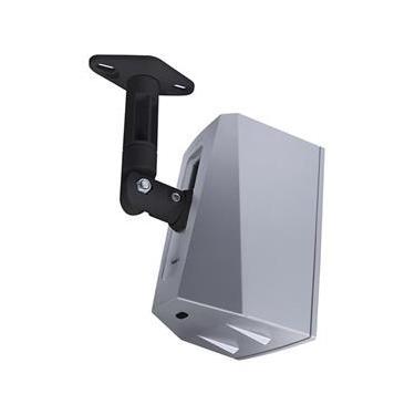 Suportes Articulados Teto e Parede Universal para Caixas Home Teather Preto com Kit de Adaptadores