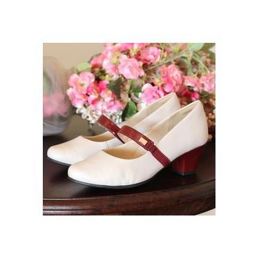 Sapato Campesi Machiato/Merlot Feminino L6534
