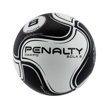 6899991dff Bola Futebol de Campo Penalty 8 S11 R2 VI - ÚNICO - Branco Preto