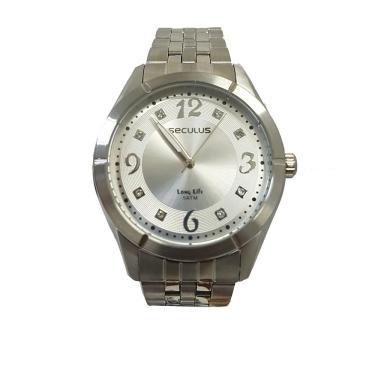 fa656804d85 Relógio Feminino Seculus Analógico 20279L0SVNA2 - Prata